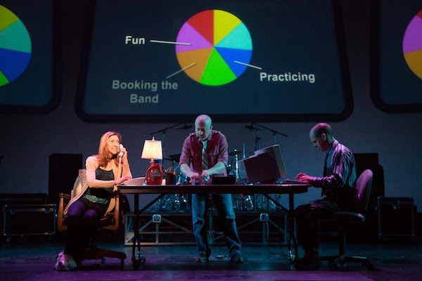 (photo by Tracy Martin, projection design by Jason Thompson)
